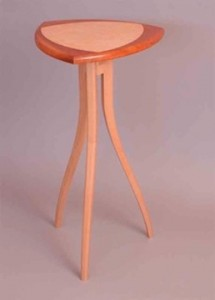 Rick Haver, Furniture Maker Lamp and vase tables