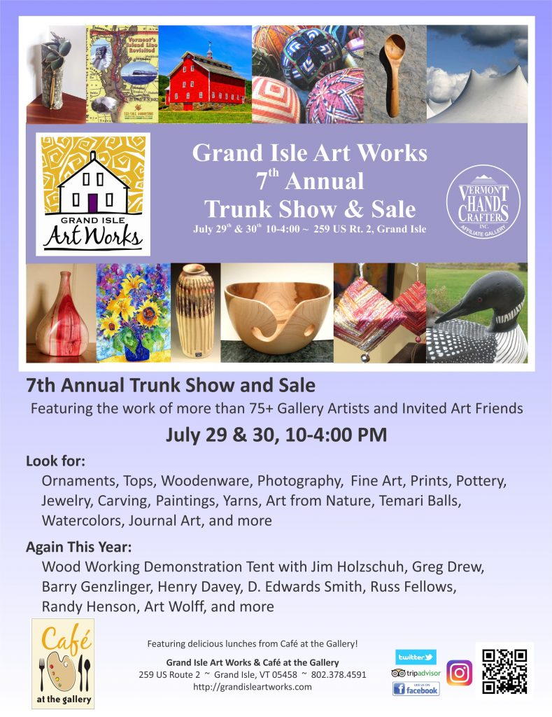 2017, Trunk Show Poster