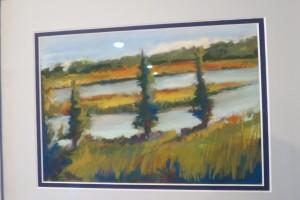 Paula Bradley, Painted Panes Pastels, photography, oils