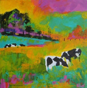 Larraine Manley Oil & Acrylic Paintings Member, Vermont Hand Crafters