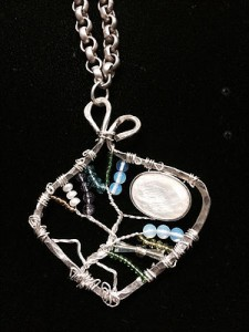 Terry Buehner Wire & Stone Jewelry Earth n Wear Whisper member Vermont Hand Crafters